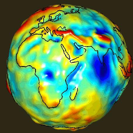 il peso della terra cambia